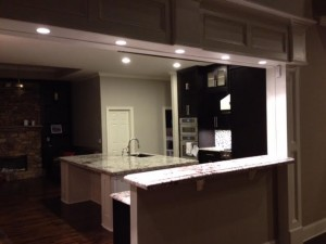 CONTEMPORARY KITCHENS - BLACK AND WHITE INSET SHAKER KITCHEN