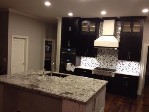 CONTEMPORARY KITCHENS - BLACK AND WHITE INSET SHAKER KITCHEN3