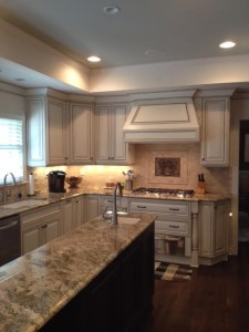 FRENCH ANTIQUE FULL OVERLAY KITCHEN