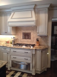 FRENCH ANTIQUE FULL OVERLAY KITCHEN 1