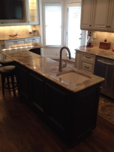 ISLAND - FRENCH ANTIQUE FULL OVERLAY KITCHEN 3